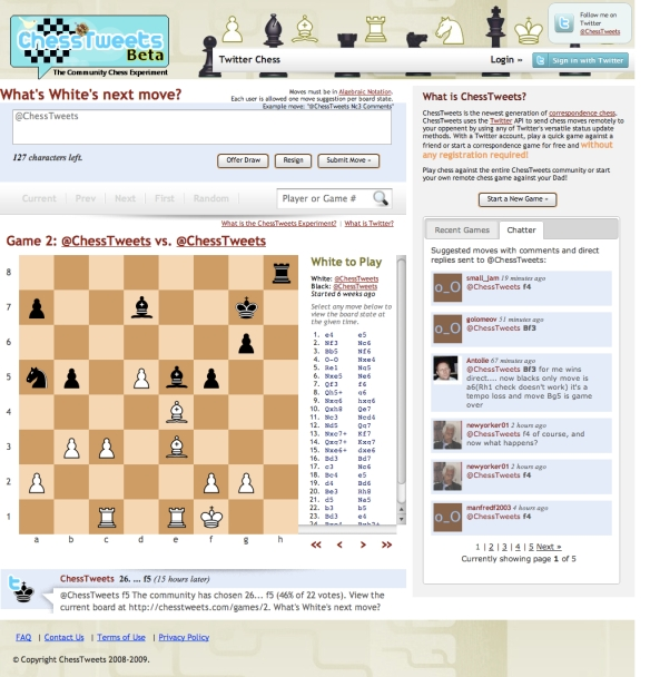 Play Chess on Twitter (20090616)