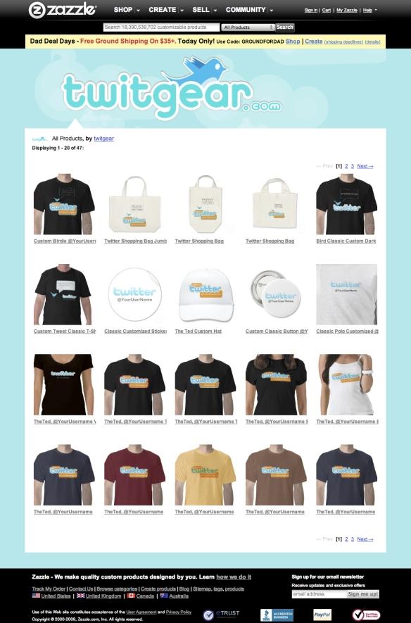 twitgear Templates Buffet - All Products (20090611)