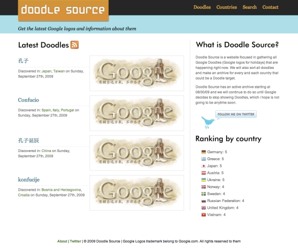 Doodle Source - Google logos do matter (20090928)